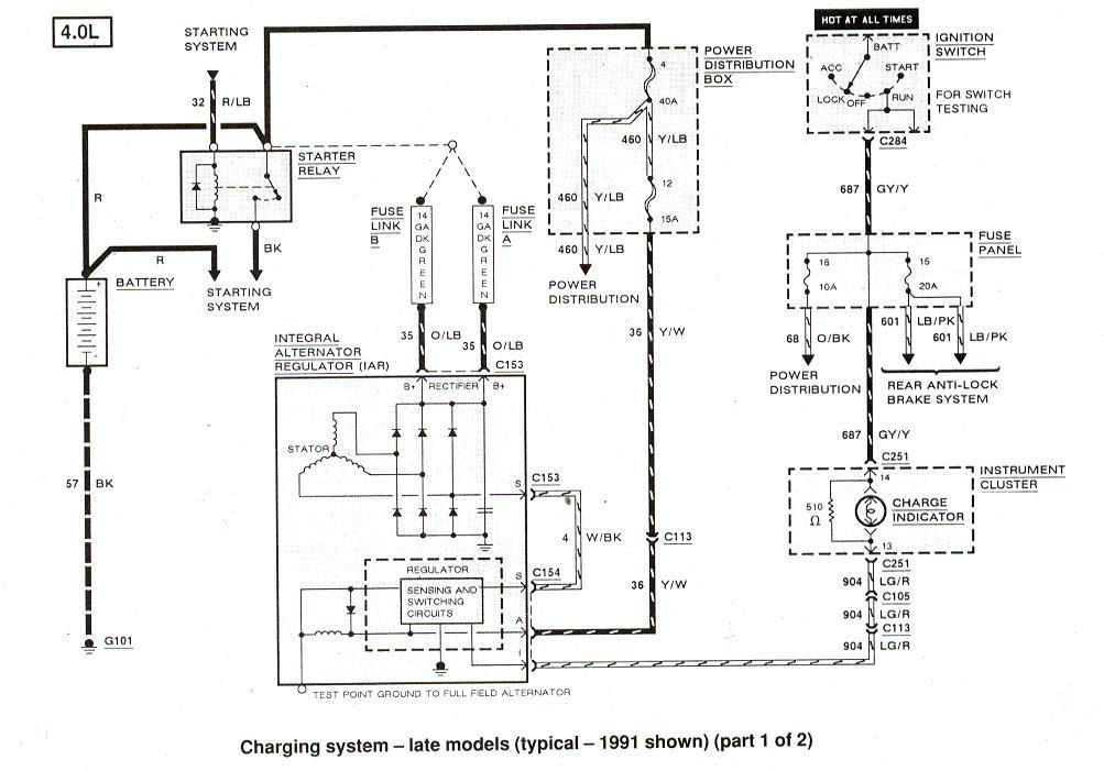 1993 f150 starter diagram  wiring diagrams database road