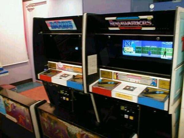Ninja Warrirors Máquina Arcade