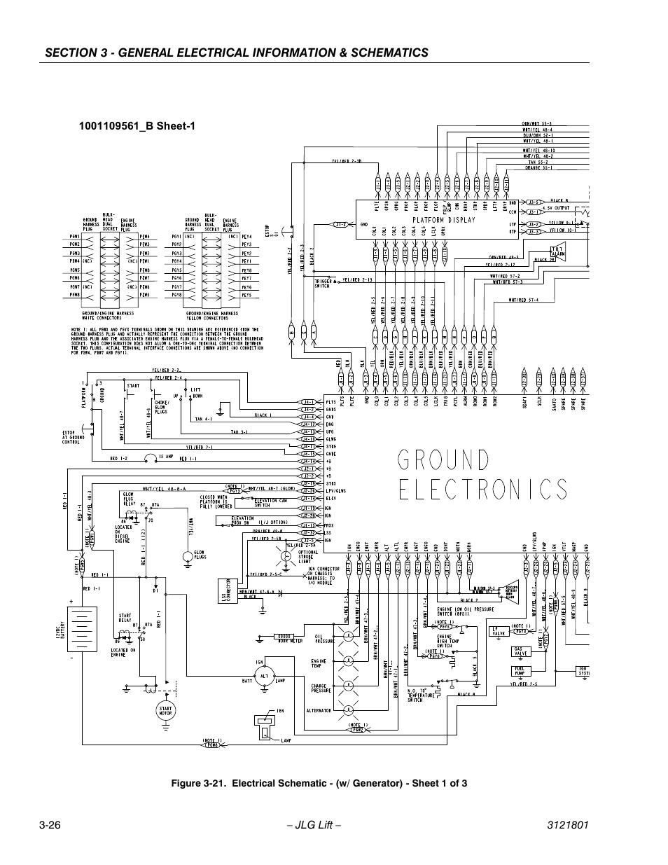 Jlg Wiring Diagram
