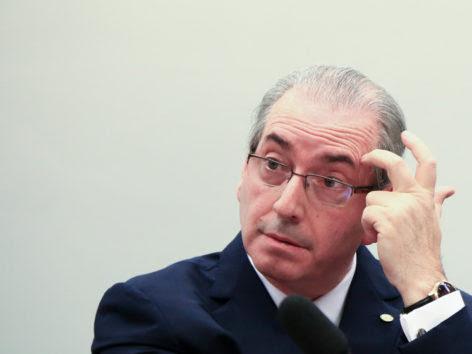 Brasília(DF), 19/05/2016 - Cunha - Eduardo cunha depõe no conselho de ética da Câmara dos Deputados. Foto: Rafaela Felicciano/Metrópoles