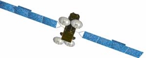 Eutelsat's KA-SAT satellite artist view (launc...