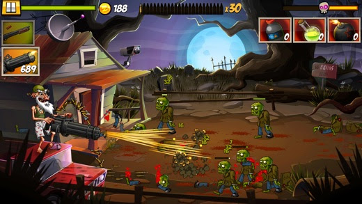 ZombieSmash! Time Travel Screenshot