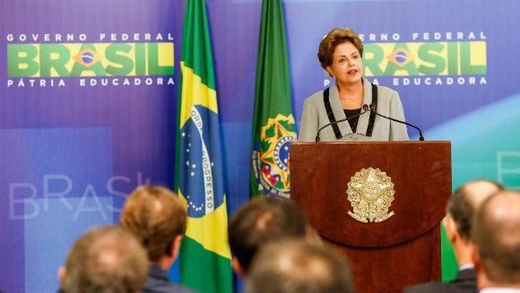 Primeiro pronunciamento de Dilma após protestos contra governo federal. Foto: Ricardo Stuckert/Fotos Públicos