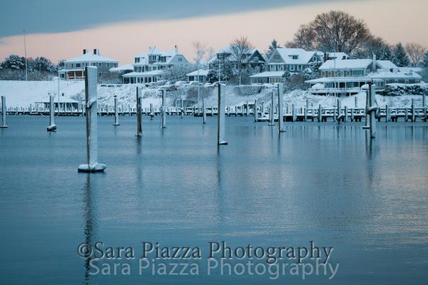 Edgartown News, spring snow, sara piazza photography