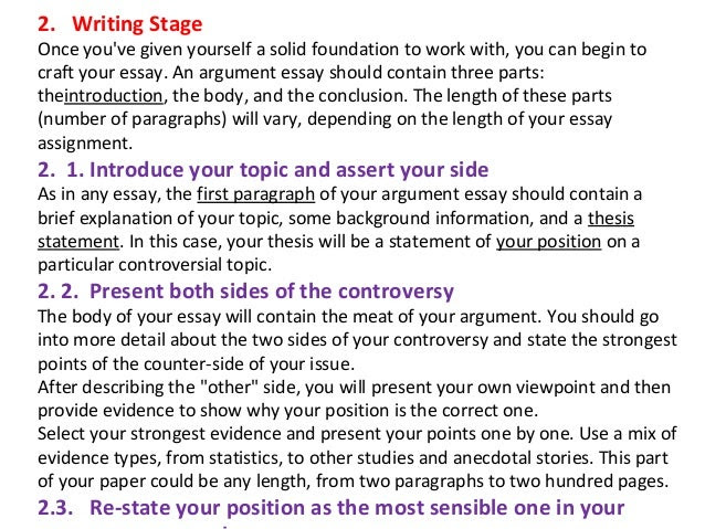 View How to Write and Argumentative Essay (2).ppt from COM at Seneca College.How To Wri te An Essay Essay Form at, Introduc tions, Body, Thesis State Conclusions ments, and, Topic.