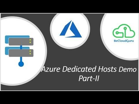 Azure Hosts Demo Step by step| Azure Dedicated Hosts Demo Step by step
