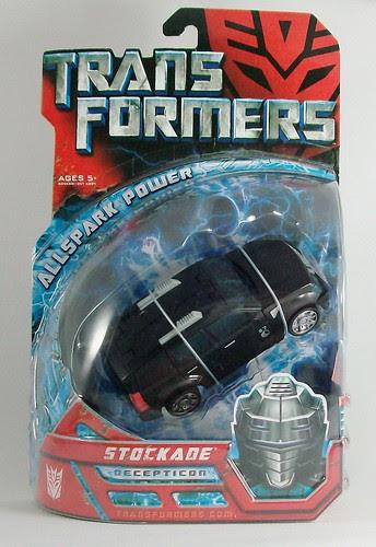 Transformers Stockade (Movie Deluxe) - caja