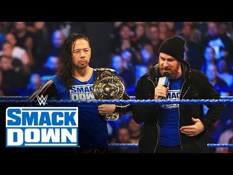 Undisputed ERA crash Shinsuke Nakamura's unveil of new-look title: SmackDown