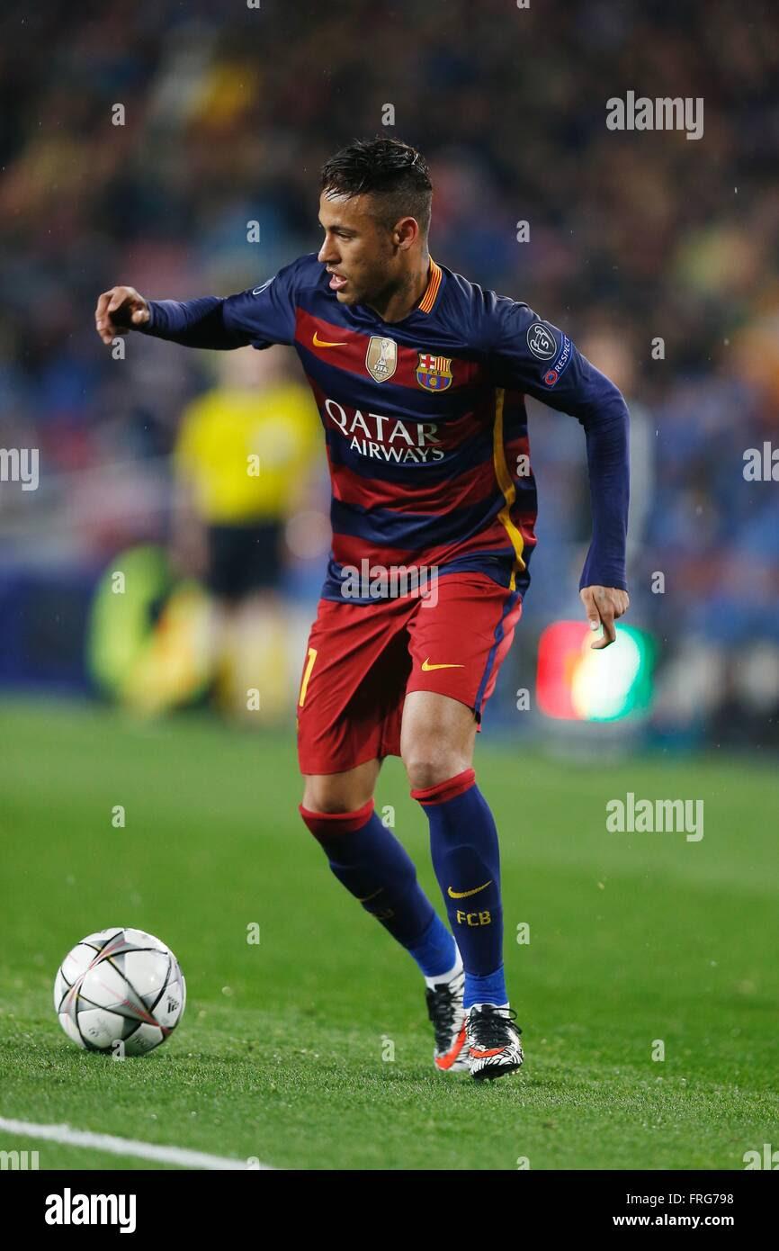 Barcelona, Spain. 16th Mar, 2016. Neymar (Barcelona ...