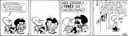 A vontade by Quino