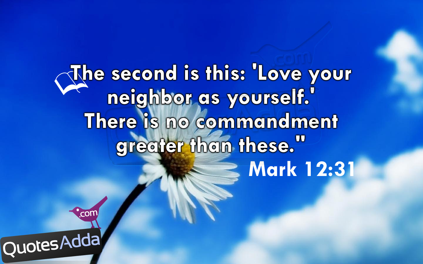 The Second Is This Love Your Neighbor As Yourself There Is No mandment