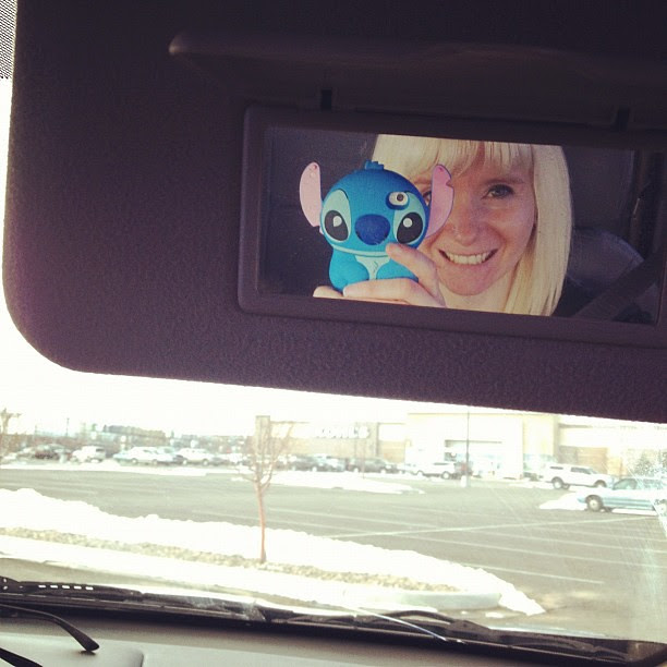 Day53 so happy with my Stitch phone case! 2.22.13