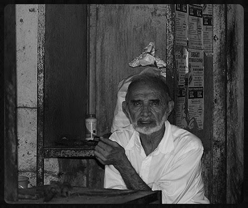 Late Ramzan Bhai Naryalwala Of Bandra Bazar Market by firoze shakir photographerno1