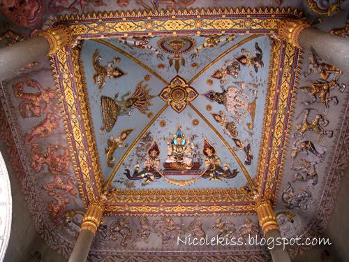 hindu roof design