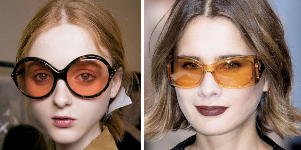 Resultado de imagen de famosas con gafas naranjas