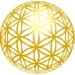 gold grid ball