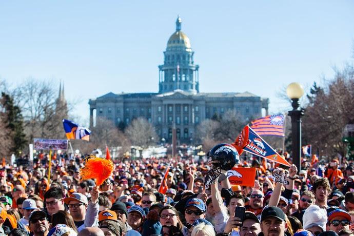 Victory Parade Denver Broncos Superbowl 50 2016 (Foto: Reuters)