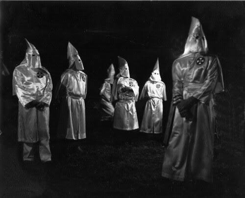 the KKK rally (circa early 70's)