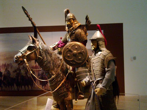 Genghis Khan Exhibition @ ArtScience Museum