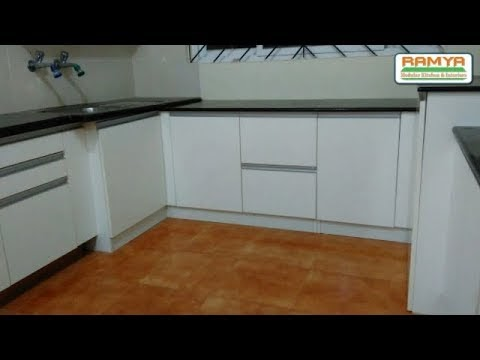 Half White Mr, Colour High Gloss Finish for Ramya Modular Kitchen, Manoj...
