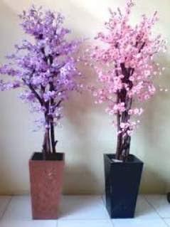 hiasan bunga di pojok ruang tamu - berbagai ruang