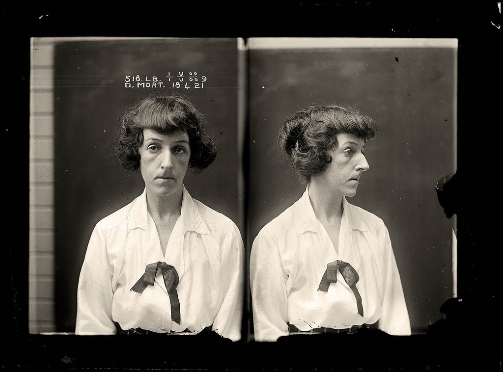 photo police sydney australie mugshot 1920 10 Portraits de criminels australiens dans les années 1920