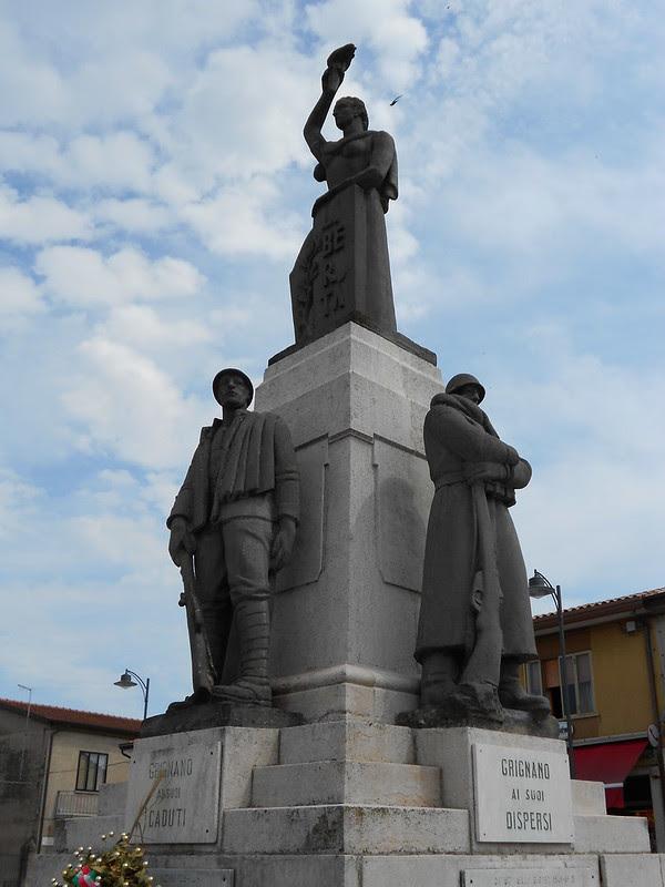 Grignano Polesine - monumento ai caduti
