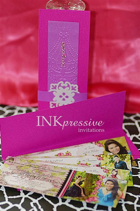 Inkpressive Invitations: 18th Birthday Invitation for Ivy