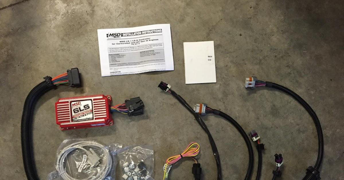 Msd 6010 Wiring Harnes