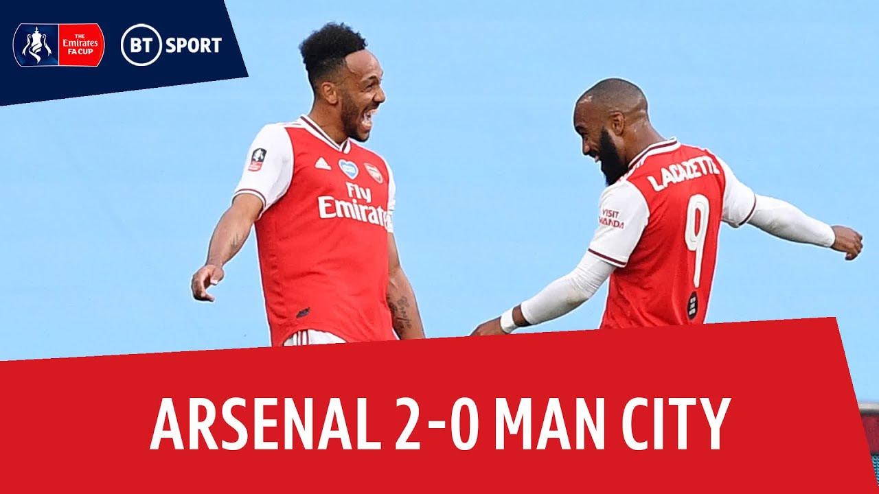 Arsenal Vs Man City 2-0 / Fa Cup 2019 20 Arsenal Vs ...