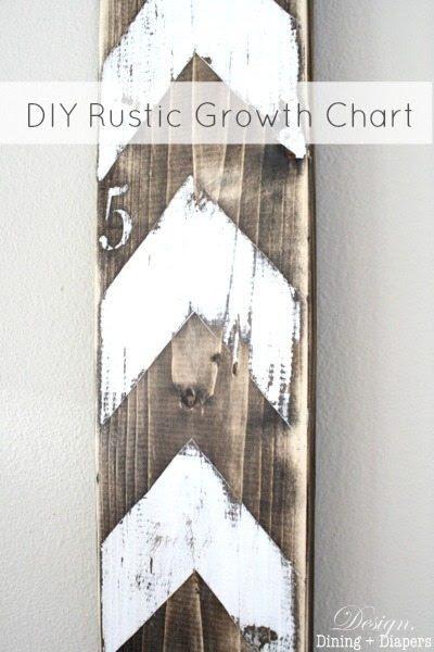 DIY Rustic Growth Chart
