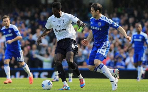 Emmanuel Adebayor & Frank Lampard
