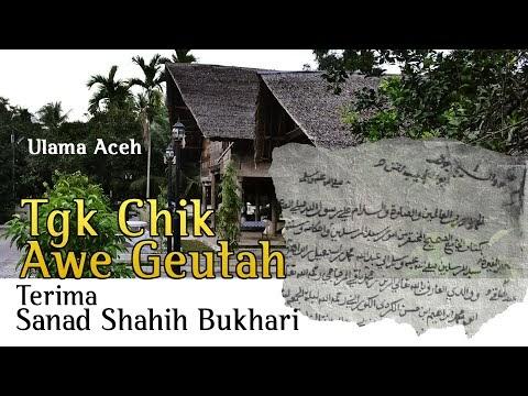 Sanad Shahih Bukhari  dari Abad ke-18 Aceh Darussalam