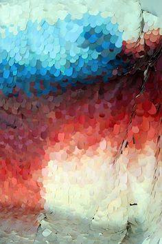 Paint Sample Art on Pinterest
