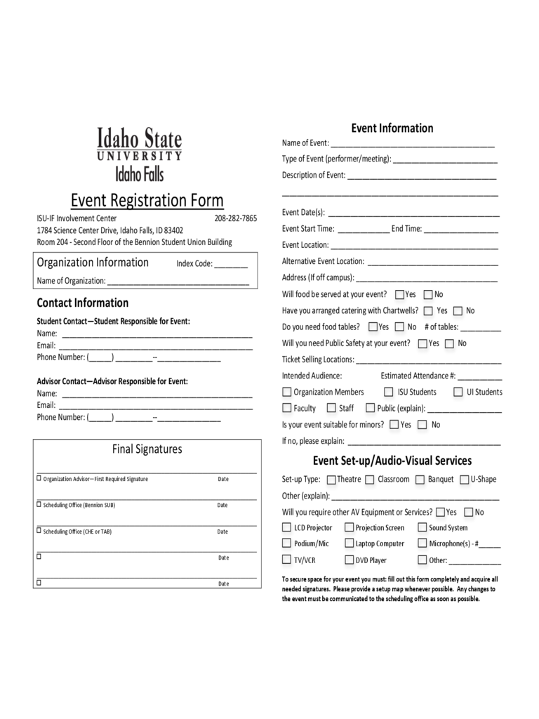 Event Registration Form 3 Free Templates In Pdf Word
