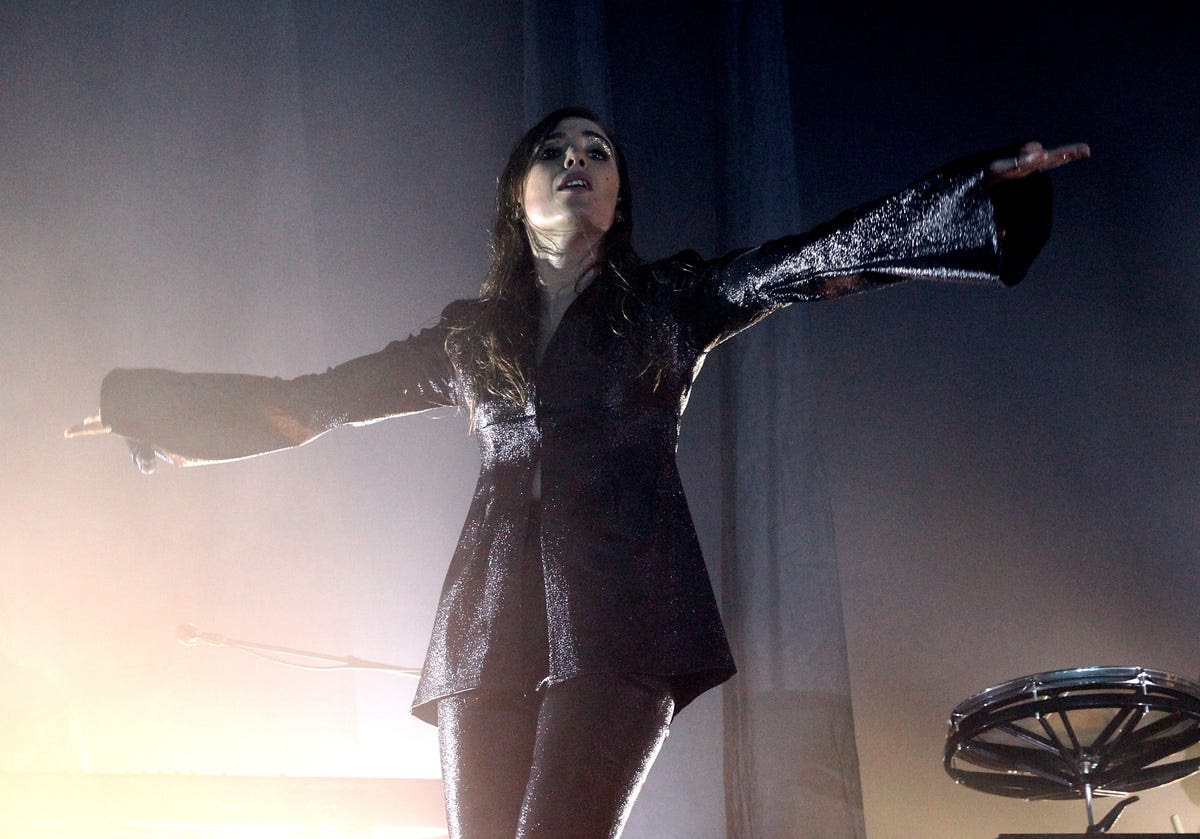 Singer Lykke Li got spiritual.