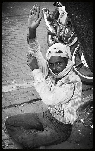 The Mad Man of Bandra Hill Road by firoze shakir photographerno1