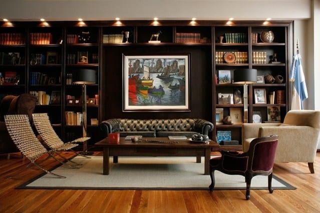 Ideas for Living Room - Bookshelf Organisation