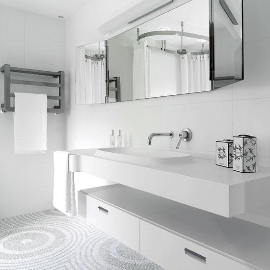 Create feature flooring   Bathroom design ideas ...