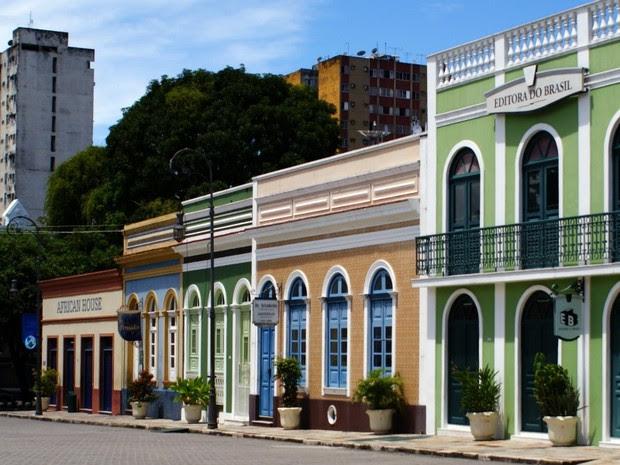 Centro Cultural Largo São Sebastião Manaus (Foto: Tiago Melo/G1 AM)