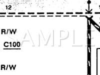 Repair Diagrams for 1992 Ford Taurus Engine, Transmission ...