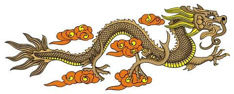 El Símbolo Del Dragón Chino