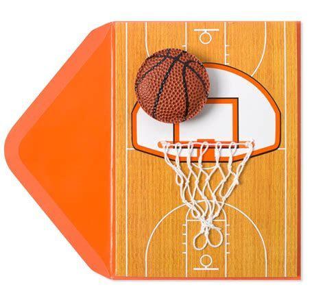 Handmade Basketball & Net   Birthday Cards   PAPYRUS