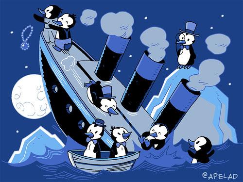 penguins by Ape Lad
