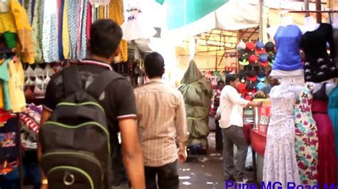Pune mg road market   Camp area   Best shopping place