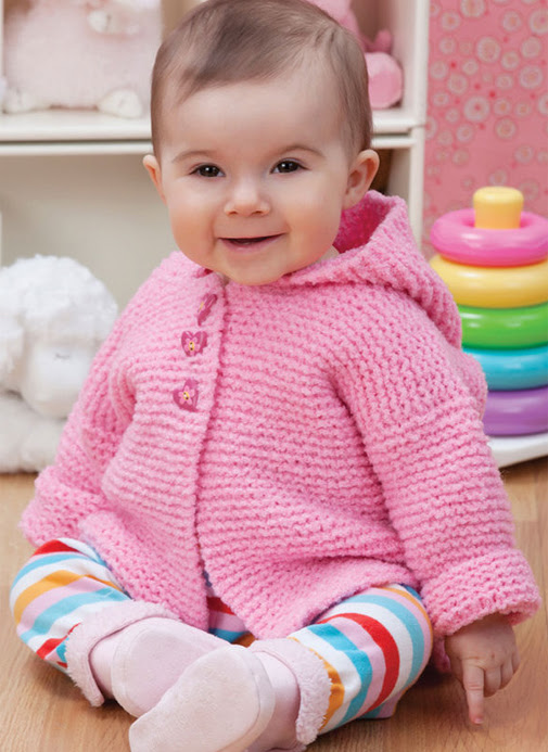 Free Knitting Pattern for Play Date Cardie