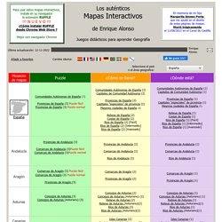Enrique Alonso Mapa Interactivo - Paises De Europa Juego Enrique Alonso
