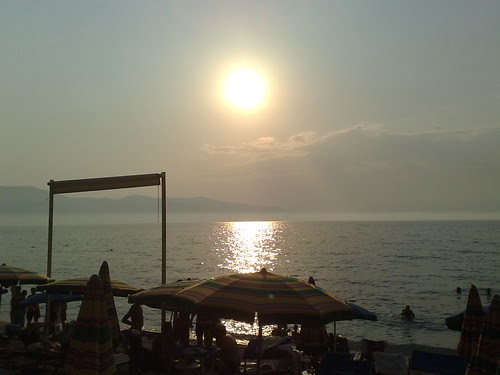 Il tramonto a Valona by durishti