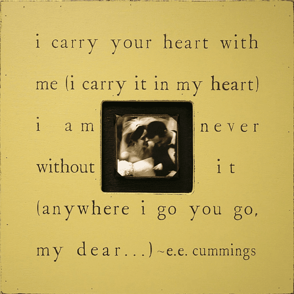 I Carry Your Heart Photobox Sugarboo Co