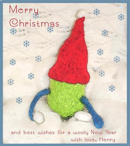 Henry's Christmas Card